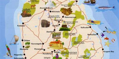 Mapa De Sri Lanka.Sri Lanka Ceilao Mapa Mapas Sri Lanka Ceilao Sul Da